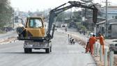 Tăng tốc trên công trình Trung Lương - Mỹ Thuận