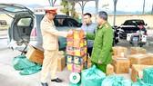 Công an Yên Bái và Cục CSGT (Bộ Công an) phối hợp  bắt vụ vận chuyển 529kg pháo nổ