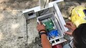 Thiết kế bên trong của thiết bị quan trắc ngập đô thị  do SHTP Labs nghiên cứu, sản xuất
