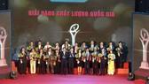 55 doanh nghiệp đoạt giải thưởng vàng chất lượng quốc gia