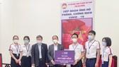 SCB tài trợ công tác phòng chống dịch Covid-19