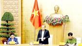 Phó Thủ tướng Thường trực Trương Hòa Bình phát biểu chỉ đạo triển khai nhiệm vụ bảo đảm trật tự, an toàn giao thông quý 2-2021