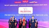 Prudential là doanh nghiệp bảo hiểm duy nhất lọt Top 10 Doanh nghiệp FDI phát triển bền vững