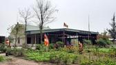 Khu chánh điện chùa Từ Tâm trong khuôn viên  Công viên Văn hóa Cao Sơn Lưu Thủy. Ảnh: HOÀI NAM