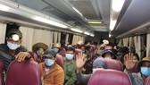 Khánh Hòa điều động xe chở 47 người Hrê về Quảng Ngãi