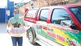Chương trình Xe gạo nghĩa tình của Báo SGGP tiếp nhận 11 tấn thực phẩm