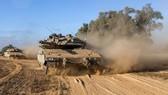 Xe tăng chiến đấu Israel. Ảnh: Global Times