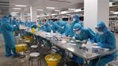Nhiều cán bộ y tế, chuyên gia có kinh nghiệm đang được huy động hỗ trợ Bắc Giang phòng chống dịch khi tỉnh này có số ca bệnh tăng nhanh tại các KCN. Ảnh: SKĐS.