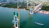 Cầu dây văng Phước Khánh đã dừng thi công từ năm 2019.