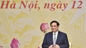 Thủ tướng Phạm Minh Chính: Những bài học, kinh nghiệm trong thời gian qua giúp chúng ta tự tin hơn trong việc thích ứng an toàn, linh hoạt, kiểm soát hiệu quả dịch bệnh. Ảnh: VGP