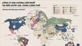 Điểm danh các công ty có vốn hóa lớn nhất tại 60 quốc gia, vùng lãnh thổ