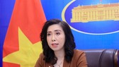 Spokesperson for the foreign ministry of Việt Nam during Thursday's press briefing in Hà Nội. — VNA/VNS Photo Lâm Khánh