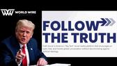 Cổ phiếu một công ty tăng... 460% nhờ ông Trump