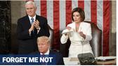 Bà Pelosi không nhớ tên ông Trump
