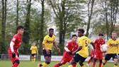 U20 Việt Nam có trận thắng 4-0 trước U21 Roda JC. Ảnh: T.L