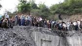 Hiện trường vụ sập mỏ than ở Golestan, Bắc Iran