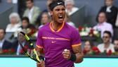 Rafael Nadal đang thể hiện quyền uy tuyệt vời trên mặt sân đất nện mùa này.