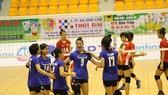 Đội nữ trẻ Ngân hàng Công thương lần thứ 3 lên ngôi vô địch.  Ảnh: Thiên Hoàng