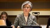 Tân Ngoại trưởng Hàn Quốc Kang Kyung-wha. Ảnh: AP