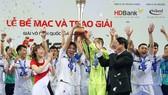 Thái Sơn Nam là đội thi đấu rất thành công và ổn định trong thời gian qua.  Ảnh: Nhật Anh
