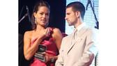 Ana Ivanovic luôn rất thân thiết với Novak Djokovic.