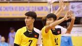 Thanh Thuận (trái) và Vũ Hoàng là những gương mặt chủ lực của đội tuyển Việt Nam tại SEA Games 29. Ảnh: Thiên Hoàng