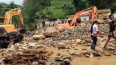 Mưa lũ mấy ngày qua ở Mù Cang Chải, tỉnh Yên Bái gây thiệt hại nặng nề