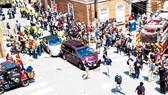 Hiện trường vụ bạo loạn tại thành phố  Charlottesville