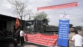 Đồng Nai: Người dân chặn đường vào mỏ đá Tân Cang