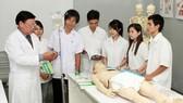 Quy định về tổ chức đào tạo thực hành trong khối ngành sức khỏe