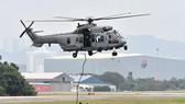 Máy bay của Lực lượng đặc nhiệm Malaysia tham gia tuần tra chung trên không tại Subang, Malaysia