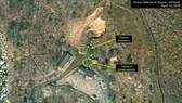 Bãi thử hạt nhân Punggye-ri của Triều Tiên được chụp qua vệ tinh. (Nguồn: 38 North)
