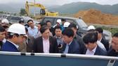 Ủy ban KH-CN-MT khảo sát Dự án đường Hồ Chí Minh đoạn La Sơn - Túy Loan