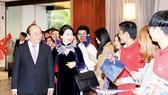 Lễ đón Thủ tướng Nguyễn Xuân Phúc và phu nhân tại sân bay quốc tế Auckland, New Zealand