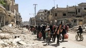 Bày binh bố trận xung quanh Syria