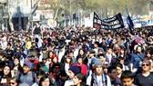 Chile: Tuần hành kêu gọi cải cách hệ thống lương hưu