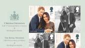 Bộ tem đặc biệt chào mừng đám cưới Hoàng gia Anh