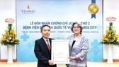VINMEC TIMES CITY -  Nhận chứng chỉ chất lượng quốc tế JCI lần thứ 2