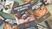 Hình ảnh chân thực trên vỏ bao thuốc lá. Ảnh: news.com.au