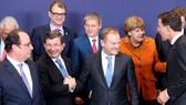 Sau nhiều giờ  đàm phán, cuối cùng lãnh đạo các nước EU đã đạt được thỏa thuận nhập cư. (Ảnh qua Kremlin Post)