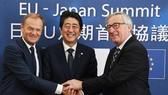 """EU và Nhật Bản ký thỏa thuận thương mại tự do """"lịch sử""""(Ảnh: rte.ie)"""