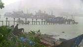 Bão số 4 gây mưa cực lớn phía Bắc