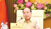 Thủ tướng Nguyễn Xuân Phúc chủ trì cuộc họp Thường trực Chính phủ