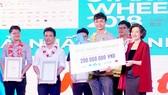 Dự án Meete giành giải nhất cuộc thi Vietnam Startup Wheel nhánh doanh nghiệp khởi nghiệp năm 2018