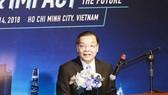 Bộ trưởng Bộ KH-CN Chu Ngọc Anh phát biểu tại sự kiện. Ảnh: MC.