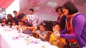 Người dân TPHCM tại lễ hội Nhật - Việt lần thứ 6. Ảnh: TTXVN