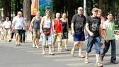 Gần 100.000 lượt du khách quốc tế đến TPHCM vui xuân
