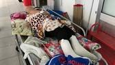 Sức khỏe 9 công nhân ở Bến Tre bị rơi thang đã dần hồi phục