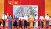 Lễ khánh thành Tòa nhà Văn hóa - Nghiệp vụ Báo SGGP. Ảnh: VIỆT DŨNG