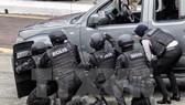 Cảnh sát chống khủng bố Malaysia tham gia công tác huấn luyện nghiệp vụ tại Kuala Lumpur. Nguồn:  TTXVN